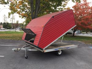 """2002 Karavan 10'x101"""" enclosed clam shell trailer will trade for Sale in Westford, MA"""