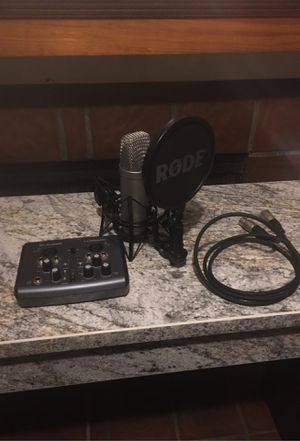 Microphone Recording Bundle for Sale in Houston, TX