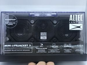 Bluetooth Speakers - Altec Lansing (Mini LifeJacket 3) for Sale in Centreville, VA
