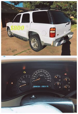 2QQ3🍀Chevrolet Tahoe Z71 🍀Loaded V8 No Issues-$8OO for Sale in Washington, DC