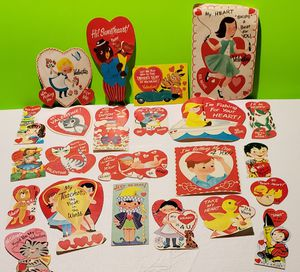 Vintage Valentines Day Card Lot (You get them all) for Sale in Denver, PA