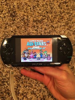 Modded PSP 64GB 8,300+ retro games, PSP And PS1 games for Sale in Columbia, MD