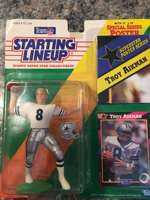 Troy Aikman Action Figure for Sale in Smyrna, TN