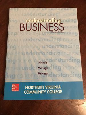 Understanding Business book for Sale in Herndon, VA