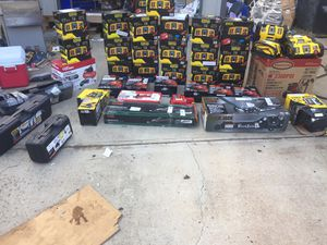 Brand new jumpstart and pressure washer and jacks and air compasser pallet for Sale in Boiling Springs, SC