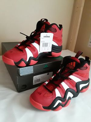 Brand New Men's Adidas Crazy 8 Varsity Red Black White Size 10 for Sale in Marietta, GA
