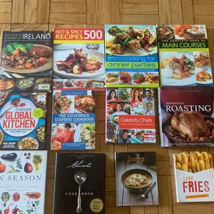 12 Cook Books for Sale in Los Angeles, CA