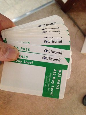 Full day bus pass for Sale in East Hartford, CT