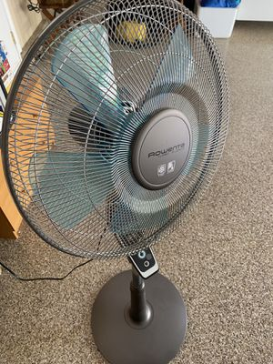 Rowenta Vu5670 Turbo Silence Stand Fan Oscillating Fan NO Remote Control for Sale in Las Vegas, NV