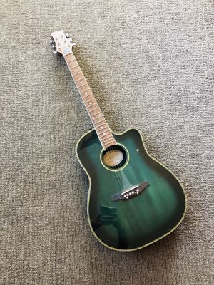 Acoustic-Electric Guitar in Sea Blue Color for Sale in San Clemente, CA