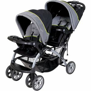 Sit and stand double stroller used only once for Sale in Sanger, CA