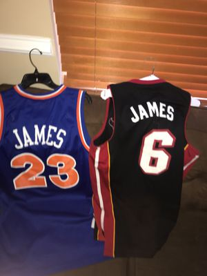 Throwback Lebron jerseys for Sale in Springfield, VA