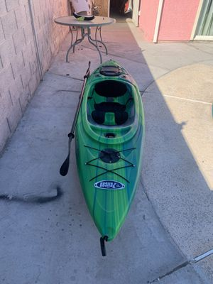 Pelican kayak clippper100x with paddle and all accessories ( like new ) for Sale in Las Vegas, NV