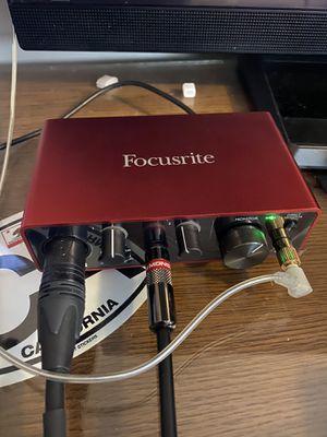 Focusrite Scarlett Solo Audio Interface (3rd Gen) for Sale in Graham, NC