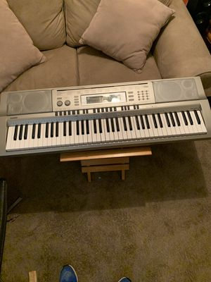Use Casio WK 200....76 keys. Portable keyboard with power adapter. for Sale in Smyrna, GA