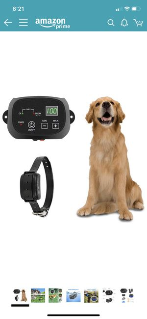 NEW! Electric Dog Fence Containment System for 1 Dog. Paid $95.99 on Amazon. Receipt in pics. for Sale in Goodlettsville, TN