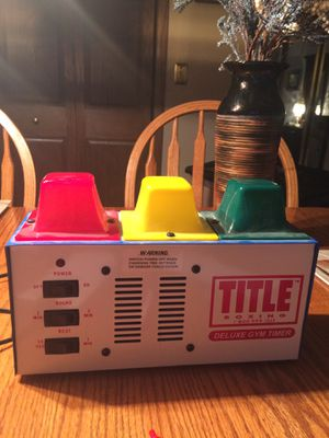 Deluxe gym timer for Sale in Willowbrook, IL