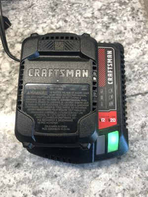Craftsman's 20v battery and charger for Sale in Lockport, IL