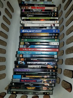 Box of 30 DVD'S for Sale in Lake Alfred, FL
