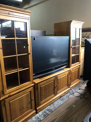 Large entertainment center for Sale in Jacksonville, FL
