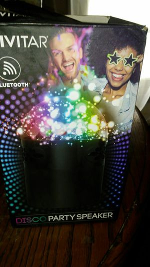 Vivitar Bluetooth Disco Party Speaker for Sale in Bellefontaine, OH