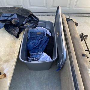 Bag/ Tote Free Clothes Must Take Seat for Sale in Murrieta, CA