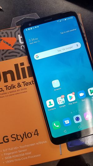 LG Stylo 4 (Boost Mobile) for Sale in Temple Hills, MD