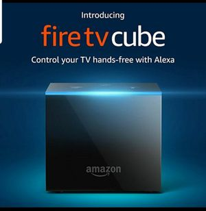 Newest Fire Tv Cube Ultra HD 4K With Alexa voice for Sale in Skokie, IL