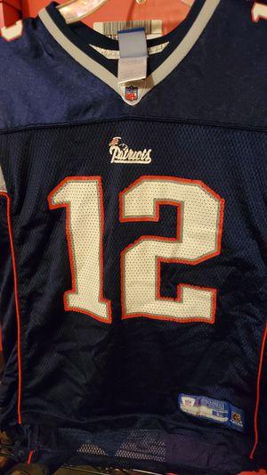 New England PATRIOTS Reebok jersey size large kids $20 for Sale in Clovis, CA