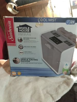 Sunbeam whole house cool mist humidifier for Sale in Caseyville, IL