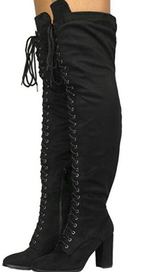 WOMENS SIZE 10 THIGH BOOTS for Sale in Philadelphia, PA