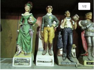 Huge collection of vintage whiskey decanters for Sale in Elk Grove, CA