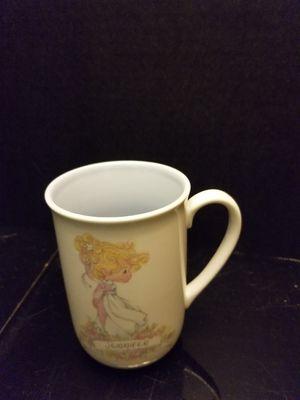 Precious moments jennifer mug for Sale in Monroe, MI