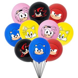 Sonic The Hedgehog 15pcs Cute Latex Balloons. for Sale in Alhambra, CA