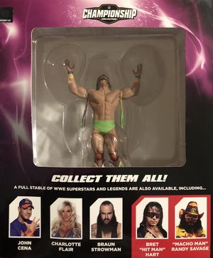 WWE/WWF ULTIMATE WARRIOR STATUE WITH COLLECTORS MAGAZINE for Sale in Houston, TX