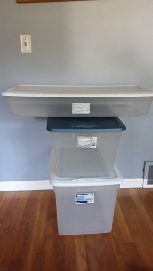 3 Plastic Storage Bins for Sale in Warwick, RI