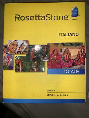 Rosett stone Italian for Sale in Chicago, IL