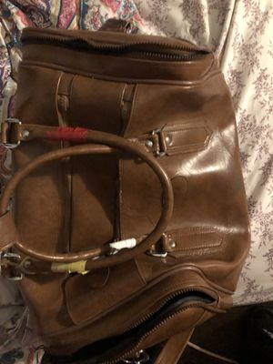 Big brown duffle bag for Sale in St. Louis, MO