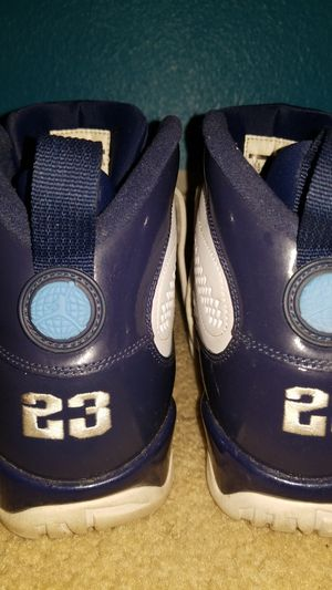 Air Jordan North Carolina 9s for the low for Sale in Kissimmee, FL