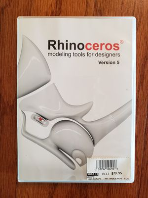 Rhino Version 5 Computer Modeling Software for Designers for Sale in Jacksonville, FL