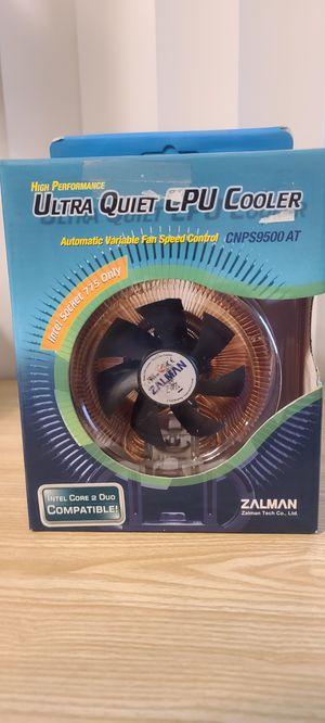Zalman CNPS9500 AT . Copper Fan heatsink for Intel 775 socket for Sale in Fremont, CA