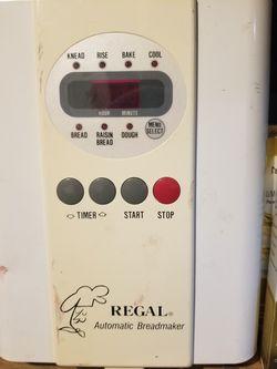 Regal Bread Maker for Sale in Aurora,  CO