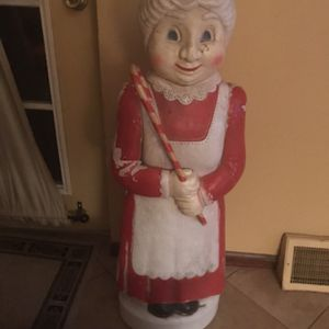 Vintage - Mrs. Claus Blow Mold for Sale in Sellersville, PA