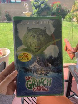 Dr. Seuss How The Grinch Stole Christmas VHS for Sale in Los Angeles,  CA
