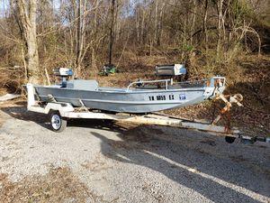 16 foot John boat (wide body) for Sale in Weber City, VA