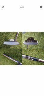 Mint condition adams golf blue dixx electronic putter Blu for Sale in Huntington Beach, CA