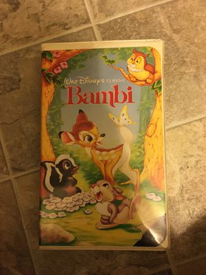 Bambi vhs for Sale in Comstock Park, MI