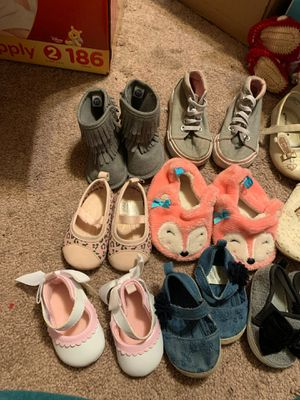 Baby girl shoes boots for Sale in Garland, TX