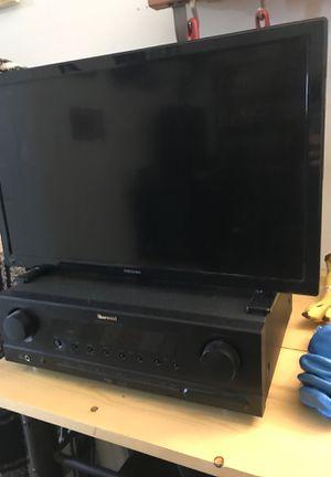 Tv, receiver, speaker set for Sale in Boulder, CO