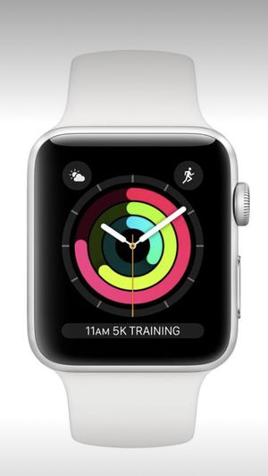 Apple Watch Series 3 - 42mm - Silver Aluminum - White Sport Band - GPS & WIFI. for Sale in Cave Creek, AZ